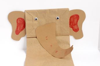 Letter E Craft: Paper Bag Elephant Puppet https://www.sightandsoundreading.com/letter-e-craft-paper-bag-elephant-puppet/Show?utm_campaign=coschedule&utm_source=pinterest&utm_medium=Mrs.%20Karle%27s%20Sight%20and%20Sound%20Reading%7C%20Literacy%20Lesson%20Plans%20and%20%20educational%20activities&utm_content=Letter%20E%20Craft%3A%20Paper%20Bag%20Elephant%20Puppet kids how letters are used in real life by making this letter E craft is for elephant paper bag puppets to learn about letter E.