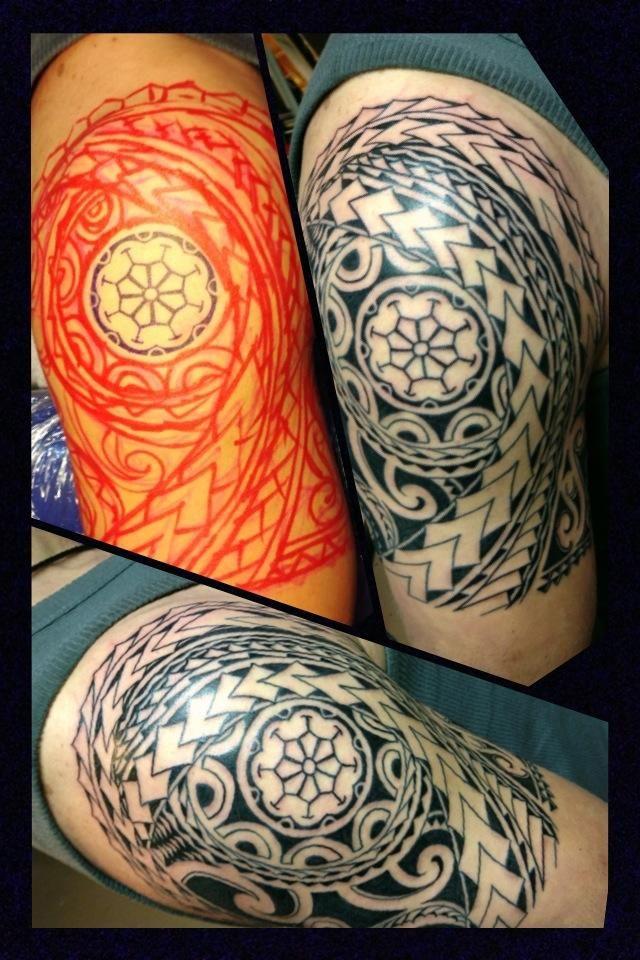 Tattoo Eastsidetattoonl Maori Freehand  Robin Pinterest