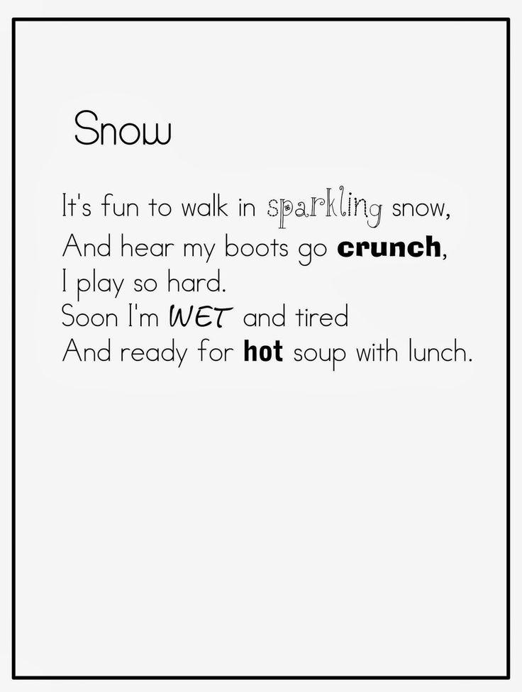 Joyful Learning In KC {short winter poems}
