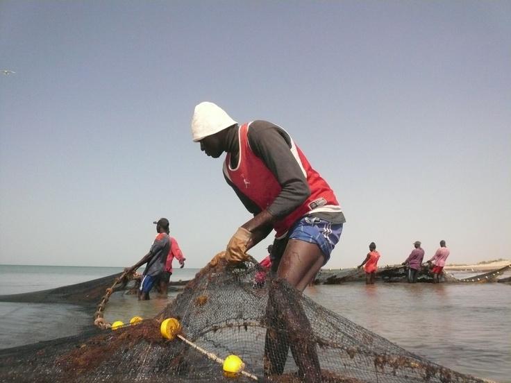 Pêcheurs à Mbodienne