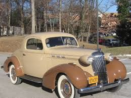 1936 Oldsmobile Rumble Seat