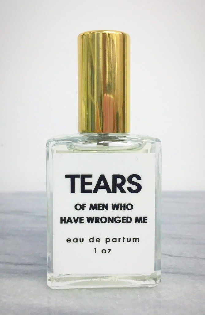 Tears Of Men Who Have Wronged Me Perfume In Decorative Glass