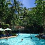 Garden Pool at the Hilton Phuket Arcadia Resort & Spa in Karon, Thailand