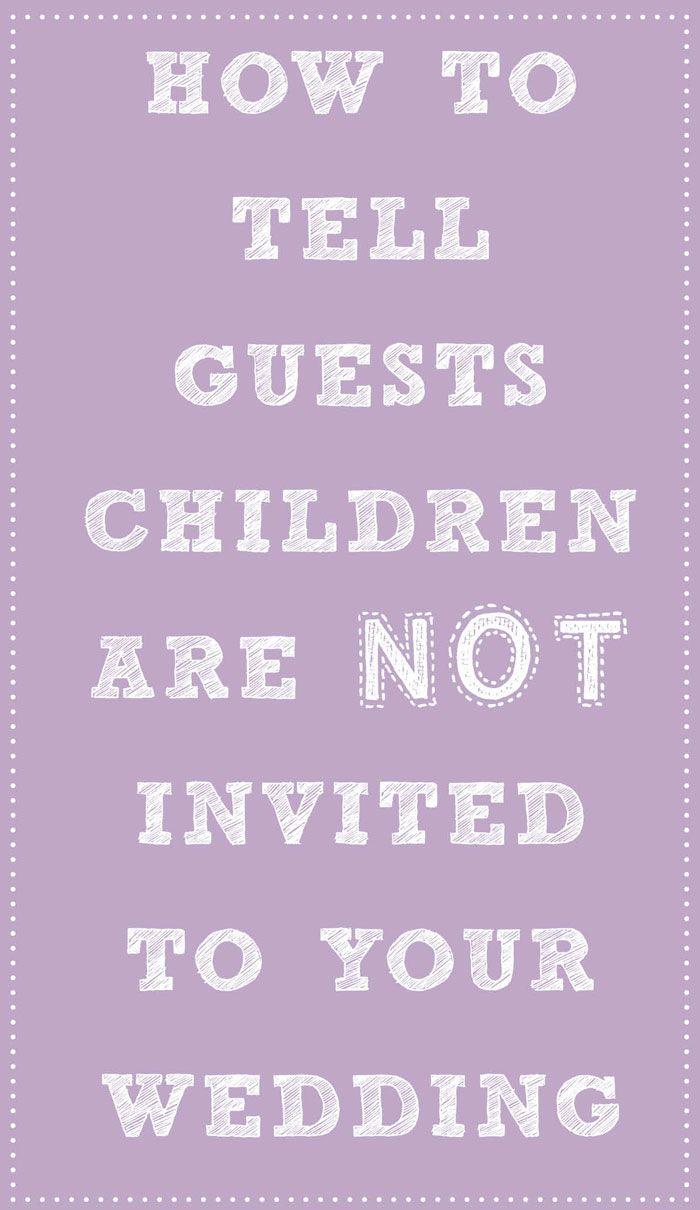 Best 25 Kid Free Wedding Invitations Ideas On Pinterest How To