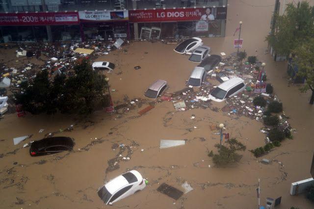 (Video) #PrayForBusan : Sekurangnya 4 Maut Taufan Chaba Landa Busan Cetus Gelombang Ombak Tinggi