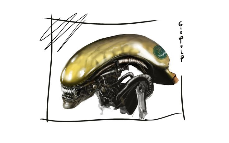Alien isolation fan art disegnato partendo da una banana https://www.youtube.com/watch?v=FYATsE1dvo8