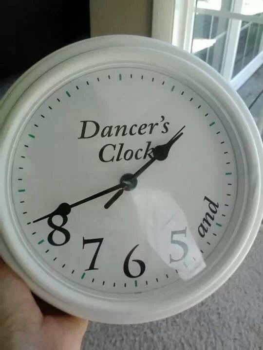 #Humor #Ballet #Reloj
