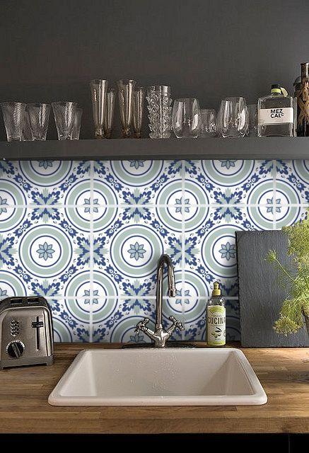 95 Best Tile Stickers Images On Pinterest | Vinyl Decals, Bathroom Tile  Stickers And Tile Decals