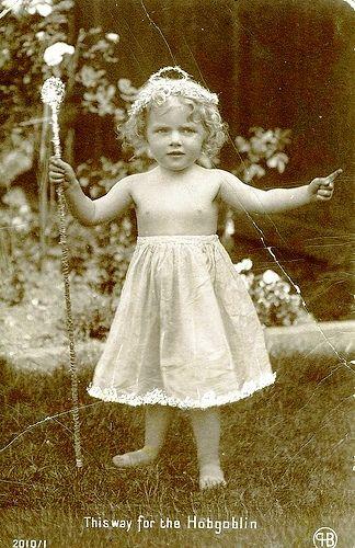 Vintage Postcard ~ Fairy Baby | Flickr - Photo Sharing!