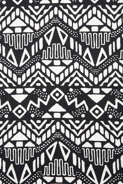 Best 25+ Aztec pattern... Black And White Tribal Print Wallpaper