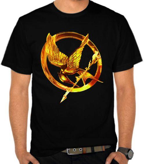 The Hunger Games Gold Logo