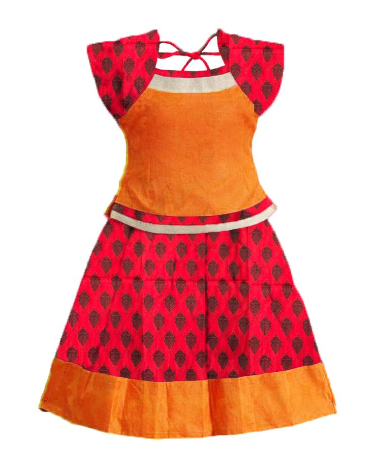 #readymadePattupavadai #kidspattupavadai Pink with orange Pattu pavadai