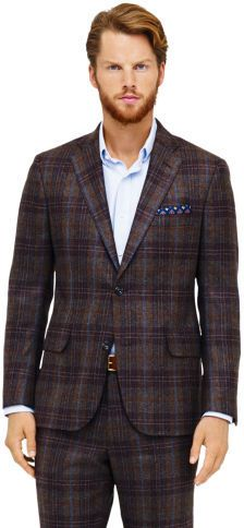 $575, Club Monaco Made In The Usa Suit Jacket. Sold by Club Monaco. Click for more info: https://lookastic.com/men/shop_items/24607/redirect