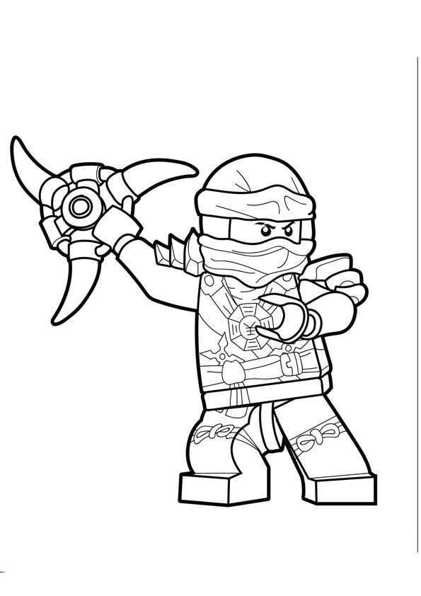 Lego Ninjago Coloring Pages For Kids Ninjago Ausmalbilder Ausmalbilder Ninjago Malvorlage