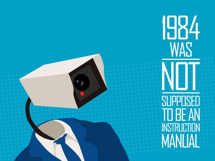 '1984 Not an Instruction Manual' infowars.com BECAUSE THEIRS A WAR ON FOR YOUR MIND