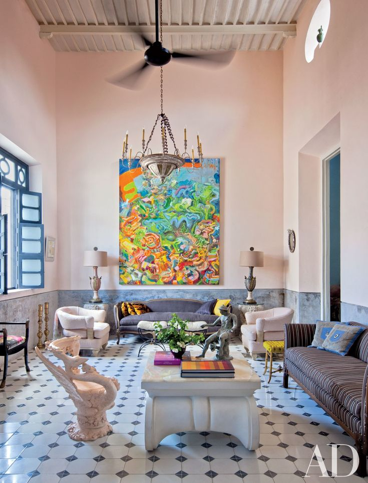 25 colorful room decorating ideas for every space in your house photos architectural digest