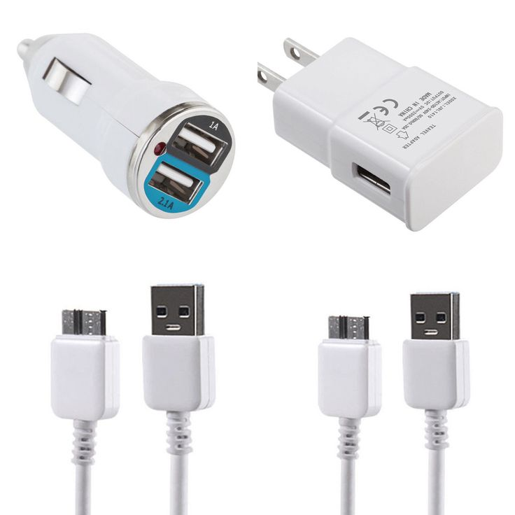 Wall Home   Car Charger   2x Data Sync Cable For Samsung Note 3 , Galaxy S5  #samsung #samsungmobile #cables #adapters