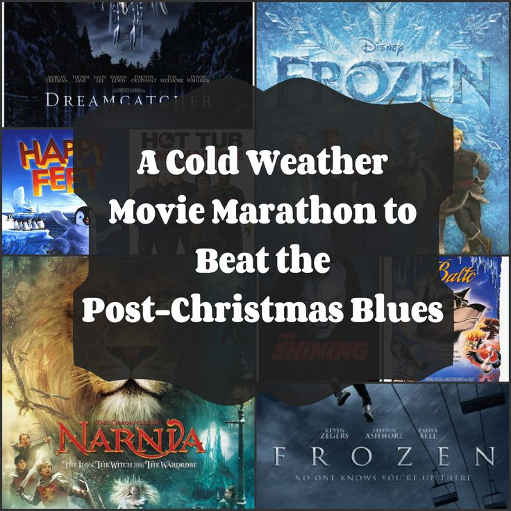 A Cold Weather Movie Marathon to Beat the Post-Christmas Blues | Germ Magazine