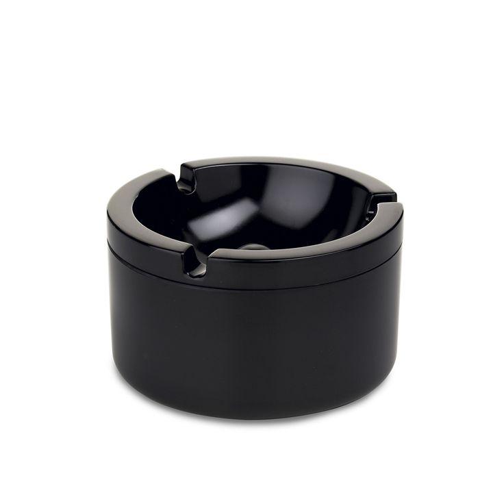 Rosti Mepal - Aschenbecher mit Deckel, schwarz Schwarz T:10 H:6 B:10 Jetzt bestellen unter: http://www.woonio.de/produkt/rosti-mepal-aschenbecher-mit-deckel-schwarz-schwarz-t10-h6-b10/