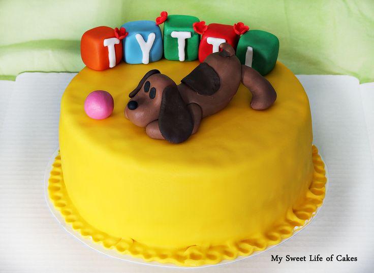 Pocoyo cake :)