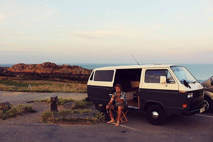 "88 Likes, 5 Comments - TIJL Tuinontwerp (@tijl.tuinontwerp) on Instagram: ""Living like a hillbilly. Killing it. . . . #vanlife #vanlifers #travel #landscapephotography…"""