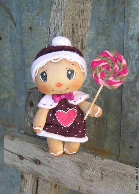"""Купить Подвеска """"Пряничный человечек """" - разноцветный, пряничный сувенир, пряничный человечек, новогодний подарок"""