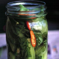 Pickled Mustard Greens Recipe | SAVEUR   I did these and it was NOT good.  Not very pickly.  Thought I would love it, ended up tossing.