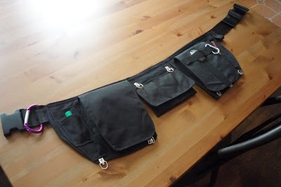 diy utility belt  perfect for training puppies!!