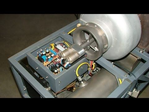 GR-7 Experimental Turbo Jet Engine - Electronic Control Unit Function Test