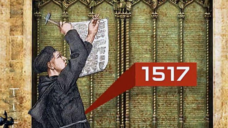 500 Jahre Reformation: Wie Luther mit 95 Thesen das Kirchensystem ins Wanken bringt