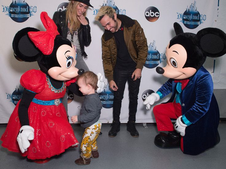 MINNIE MOUSE, MEAGAN CAMPER, PETE WENTZ, MICKEY MOUSE