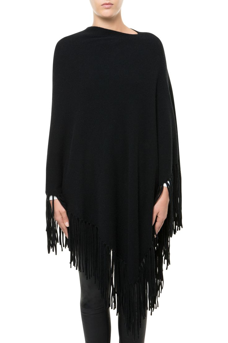 PONCHO LEMON BLACK - Pullovers & waistcoats - Fall Winter   Max & Moi