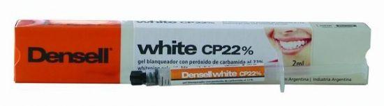 WHITE CP22% AMBULATORIO • Peróxido de carbamida • Liberador de fluor • Agente desensibilizante incorporado • Tratamiento nocturno/diurno • Jeringa 2.0 ml - Cod 6533