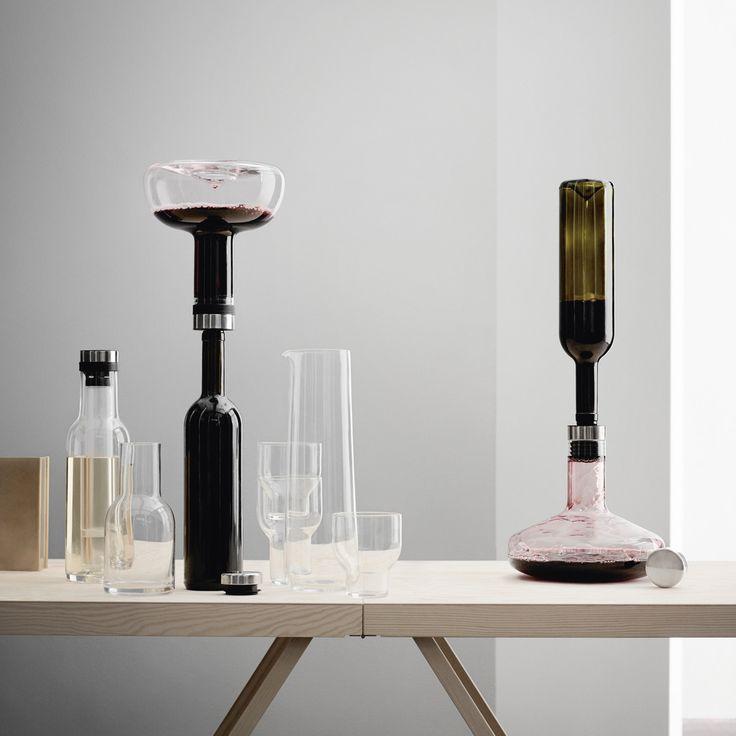 Karafka napowietrzająca na wino Menu Deluxe