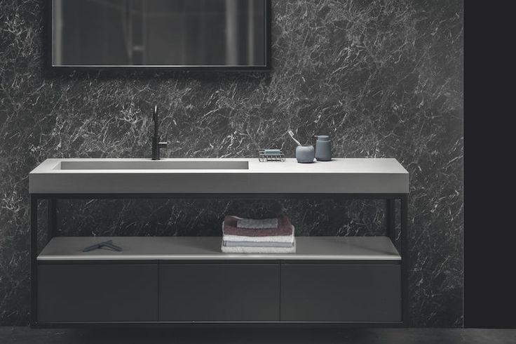 236 beste afbeeldingen over badkamermeubels badkamer op pinterest - Winkelruimte met een badkamer ...