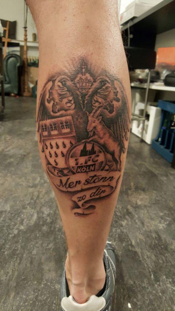 Geißbock Tattoo