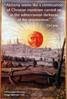 Carl Jung Depth Psychology: Alchemy seems like a continuation of Christian mysticism,,,