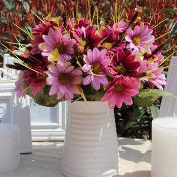 16 best artificial flowers dogwood images on pinterest gnw fl bp24 12 75cm high quality silk daisies artificial flowers for mightylinksfo Image collections