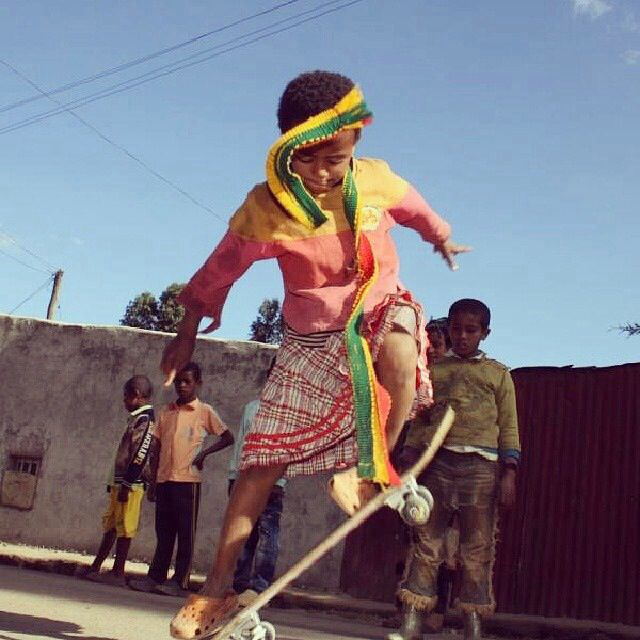 #ethioskate love what they stand for