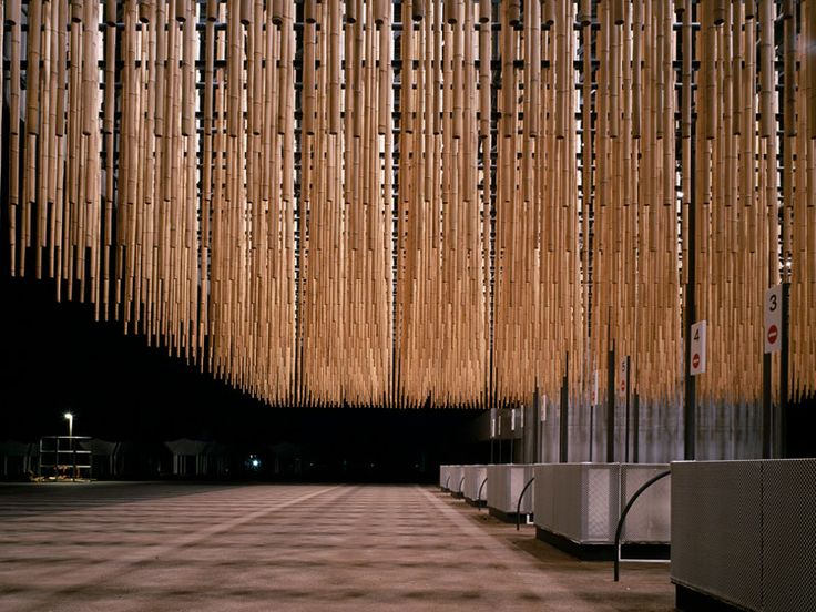 Shizuoka International Garden and Horticulture Exhibition designed by Kengo Kuma and Associates.