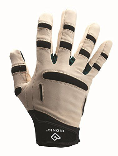 These are excellent gardening gloves. They hug the fingers, but not too tightly, and the padding at the pressure points reduces fatigue. We live in a tropical climate so yard work happens year round. These gloves are well made from a durable fabric and last several years. When we need to replace them, usually due to user error-snipping the glove instead of the plant-we always get another pair of Bionics.
