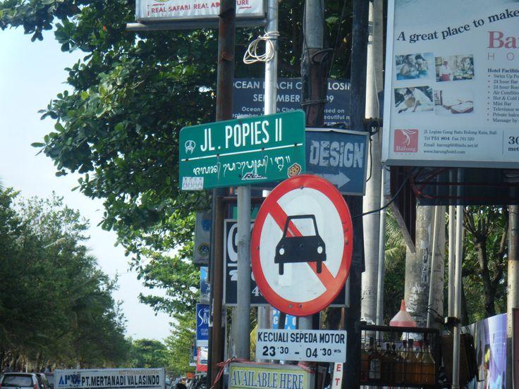 Kuta Bali, Poppies Lane 1. - Google Search