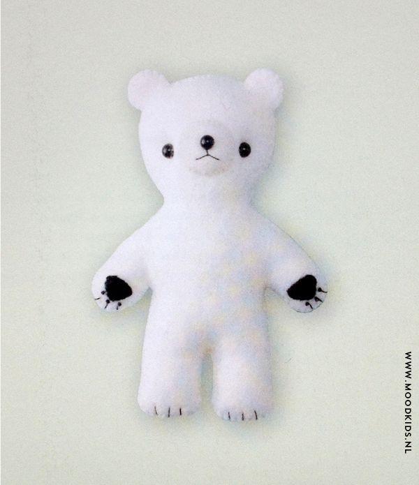 DIY Baby Bear by moodkids #DIY #Toys #Stuffie #Bear