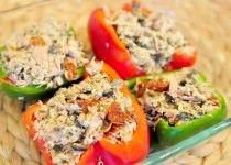 Gevulde paprika uit de oven met tonijn - Voedzaam en Snel