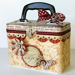 recipe box or album box or....so many ideas