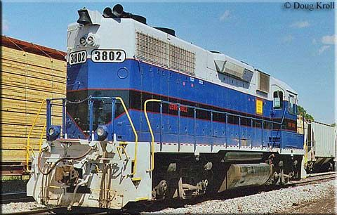 The Georgia Southwestern Railroad (reporting mark GSWR) is a Class III short line railroad company that operates over 234 miles of track in southwestern Georgia and southeastern Alabama. Beginning in 1989 as a division of the South Carolina Central Railroad on a pair of former CSX Transportation lines The railroad was formerly a RailAmerica property before going independent, and in 2008 it was acquired by Genesee & Wyoming Inc