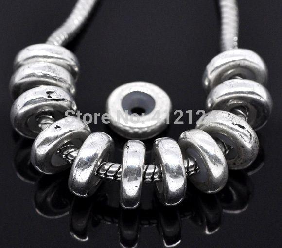 250 шт. бесплатная доставка нью-diy пробки W / резиновые прокладки бусины приспосабливать подвески браслеты ювелирных изделий 11 мм x 3.5 мм