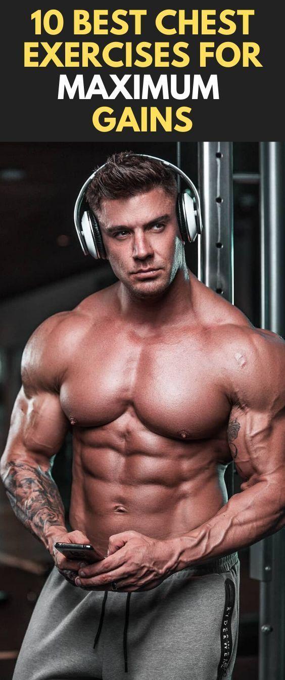 10 Best Chest Exercises for Maximum Gains fitness