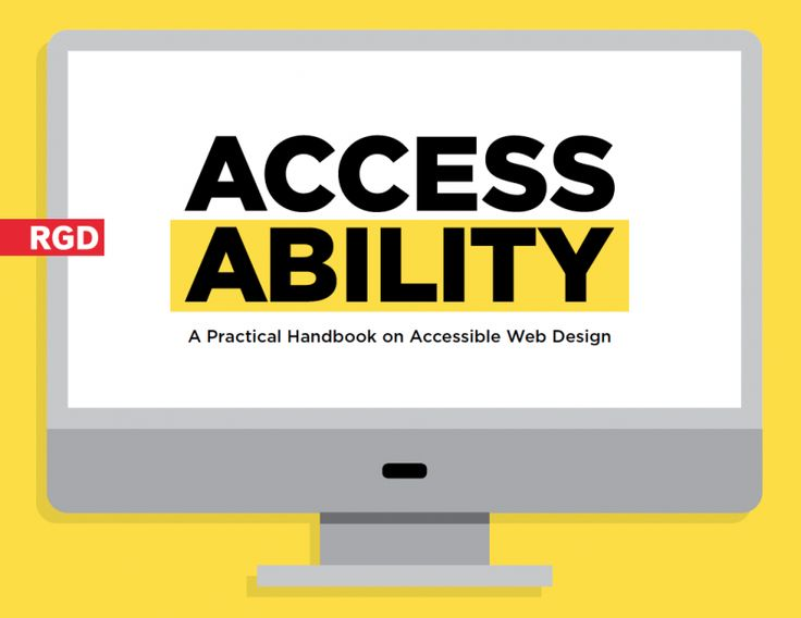 RGD's new Web Design Accessibility Handbok is now available to download,  aimed at educating graphic