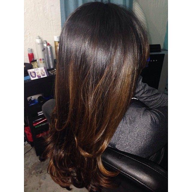106 Best Images About Brown Hair Highlights On Pinterest